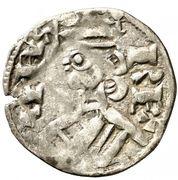 Dinero Alphonse VIII Burgos – avers