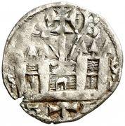 Dinero Alphonse VIII Burgos – revers