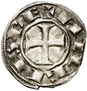 Dinero Alphonse VIII Ségovie – avers