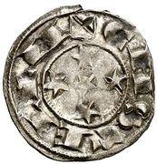 Dinero Alphonse VIII Ségovie – revers