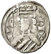 Dinero Alphonse VIII Sigüenza – avers