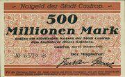 500 Millionen Mark (Castrop) -  avers