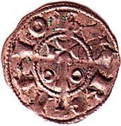 Obolo Alphonse I – avers