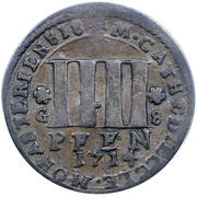 4 pfennig (Monnayage de cathédrale) – revers