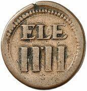 4 Pfennig (ELE) – avers