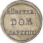 1 Pfennig (Silver Pattern) – avers