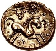 Gold Stater (Trinovantian M; Tasciovanus) – revers