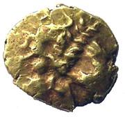¼ de statère d'or (Atrébates) – avers