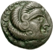 Billon Stater (N.W. Gaul) – avers