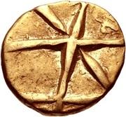 Gold ¼ Stater (Gallo-Belgic B) – avers