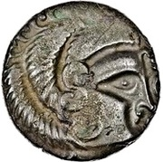 Billon Stater (N.W. Gaul; Class I) – avers
