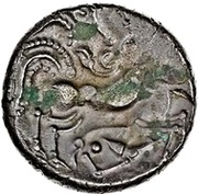 Billon Stater (N.W. Gaul; Class I) – revers