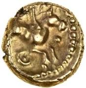 Gold ¼ Stater (Atrebatic H; Eppillus) – revers