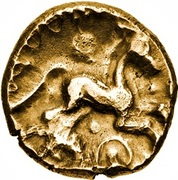 Gold Stater (Trinovantian I; Addedomaros) – revers
