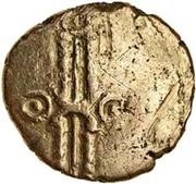 Gold ¼ Stater (Trinovantian L; Dubnovellaunus) – avers