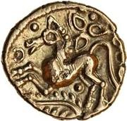 Gold ¼ Stater (Trinovantian L; Dubnovellaunus) – revers