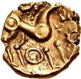 Gold ¼ Stater (Snettisham type) – revers