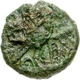 Bronze Unit (Cantian K; Dubnovellaunus) – revers