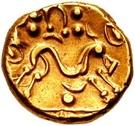 Gold Stater (Gallo-Belgic E) – revers