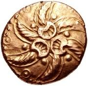 Gold Stater (Trinovantian J) – avers