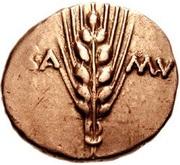 Gold Stater, Cunobelin - Trinovantian U – avers