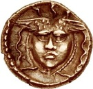 ¼ Gold Stater (Atrebatic E) – revers