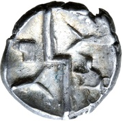 Silver ¼ Stater (Durotrigan) – revers