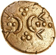Gold Stater (Icenian B) – avers