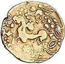 Gold ¼ Stater (Gallo-Belgic AB1) – revers