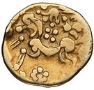 Gold ¼ Stater (Gallo-Belgic A) – revers