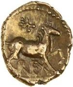 Gold ¼ Stater (Atrebatic J) – revers