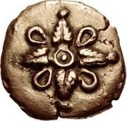 Gold ¼ Stater (Trinovantian J; Addedomaros) – avers
