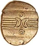 Gold Stater (Trinovantian L; Dubnovellaunus) – avers