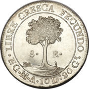 8 reales – revers