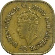 5 cents - George VI -  avers
