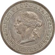 50 cents - Victoria – avers