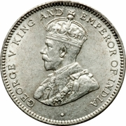 25 cents - George V -  avers