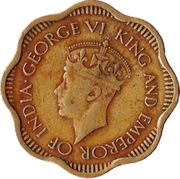 10 cents - George VI -  avers