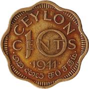 10 cents - George VI -  revers
