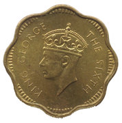2 cents - George VI – avers