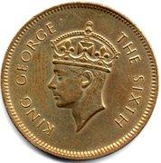 50 cents - George VI – avers