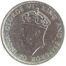 1 Cent - George VI (Trial Strike) – avers