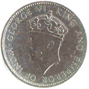 1 cent - George VI (Essai) – avers