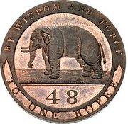 1/48 Rupee (Essai) – avers