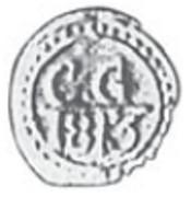 1/256 Rixdollar – avers