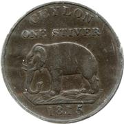 1 stiver - George III – revers