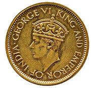 50 Cents - George VI (Essai) – avers