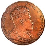 5 Cents - Edward VII (Essai) – avers