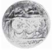 Abbasi / 4 Shahi (Counterstamped) – revers