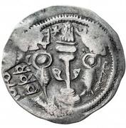 1 Drachm (Kushru I imitation; Chaghaniyan; countermark) – revers